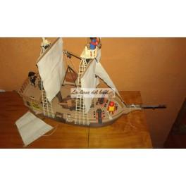 Antiguo Barco Pirata
