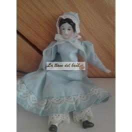 Muñeca antigua de porcelana china