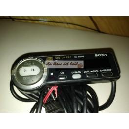 Control remoto alambrico para caja de discos Sony