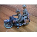 motocicleta marca ELASTOLIN Alemana.